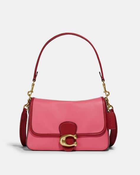 Soft Tabby Shoulder Bag In Colorblock
