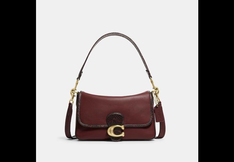 Soft Tabby Shoulder Bag With Snakeskin Detail image number 0