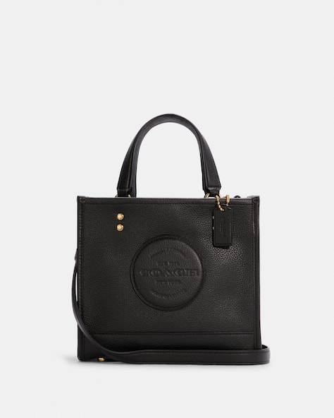 Dempsey Tote 22 With Coach Patch
