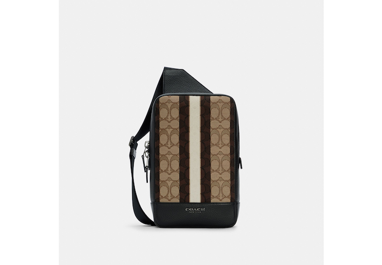 Turner Pack In Signature Jacquard With Stripes image number 0