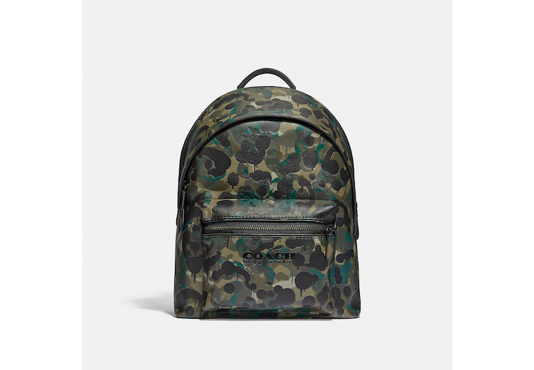 Charter Backpack With Camo Print image number 0