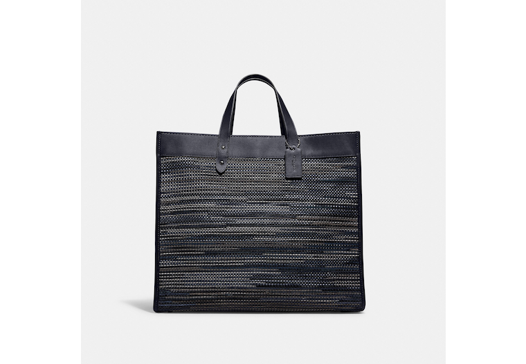 Field Tote 40 In Upwoven Leather image number 0
