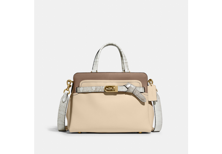 Tate Carryall 29 In Colorblock With Snakeskin Detail image number 0