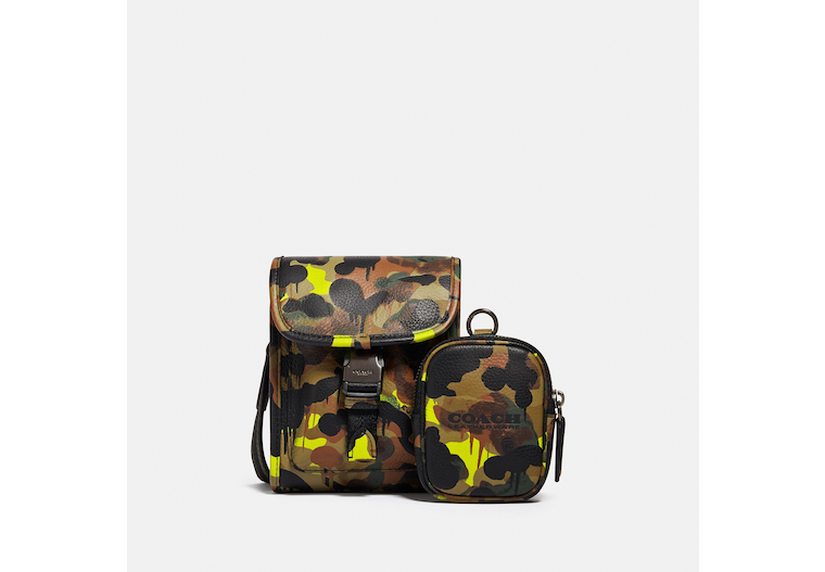 Charter North/South Crossbody With Hybrid Pouch With Camo Print image number 0