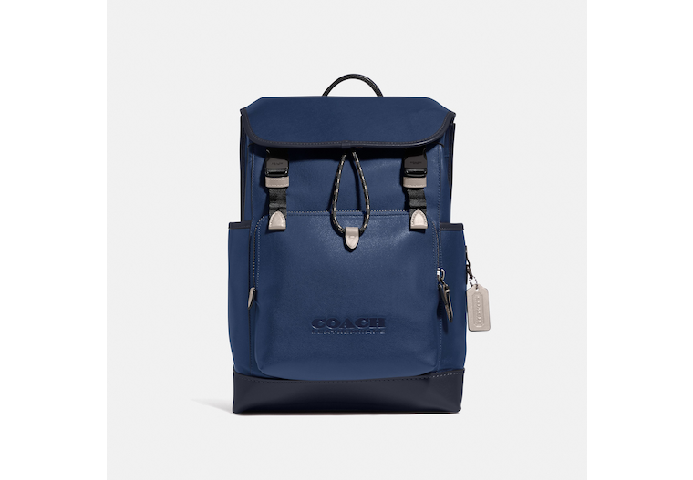 League Flap Backpack In Colorblock image number 0