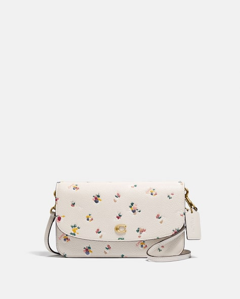 Hayden Crossbody With Paint Dab Floral Print