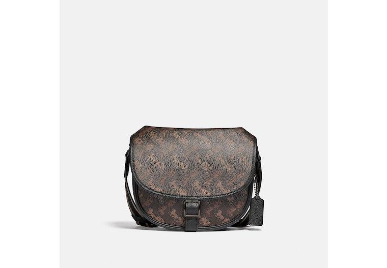 Hitch Crossbody With Horse And Carriage Print image number 0