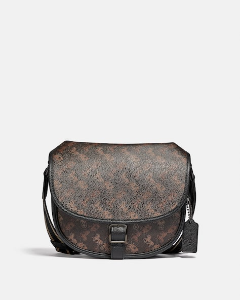 Hitch Crossbody With Horse And Carriage Print