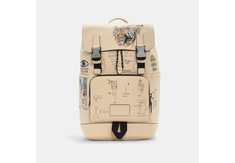 Coach X Jean Michel Basquiat Track Backpack image number 0