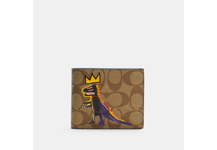 Coach X Jean Michel Basquiat 3 In 1 Wallet In Signature Canvas image number 0