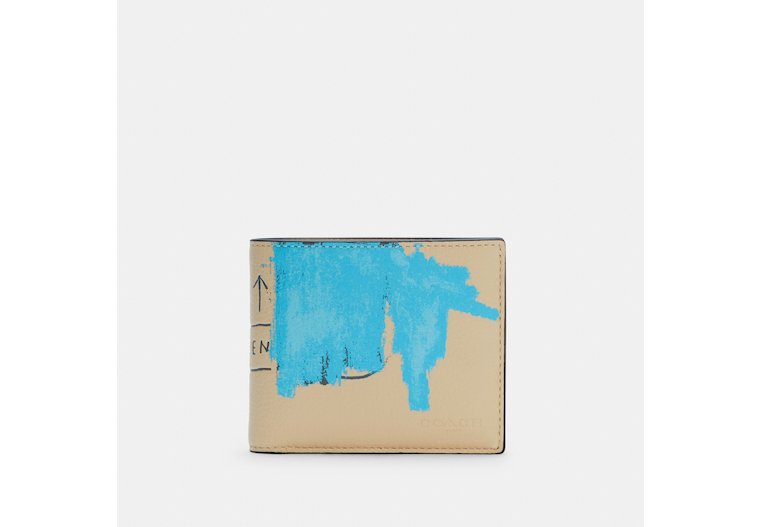 Coach X Jean Michel Basquiat 3 In 1 Wallet image number 0
