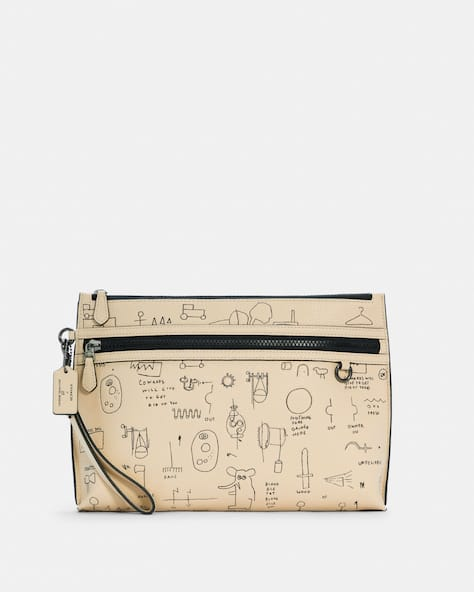 Coach X Jean Michel Basquiat Carryall Pouch