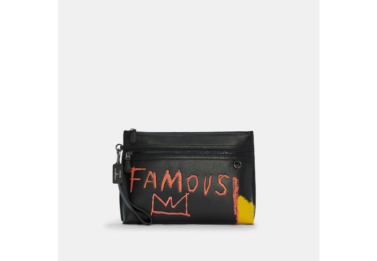 Coach X Jean Michel Basquiat Carryall Pouch image number 0