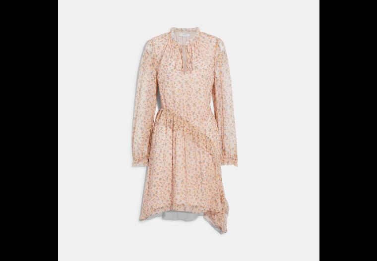 Printed Short Day Dress image number 0