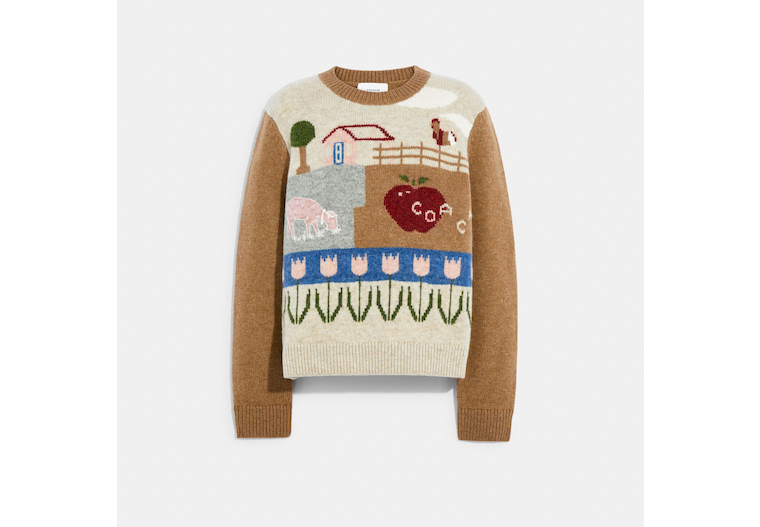Block Landscape Sweater image number 0