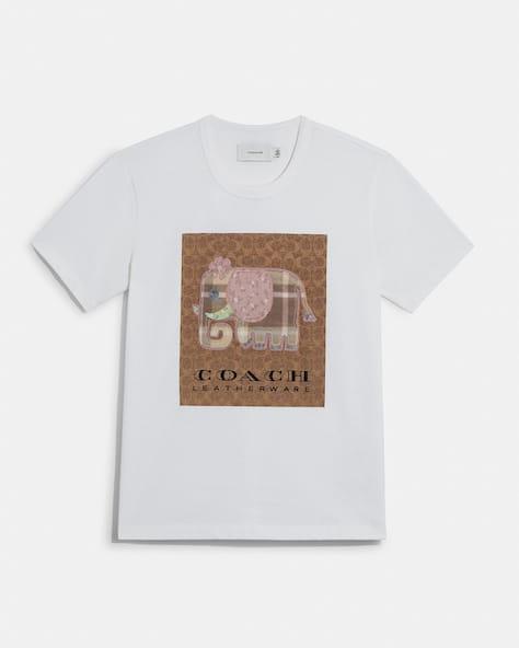 Signature Elephant T Shirt In Organic Cotton