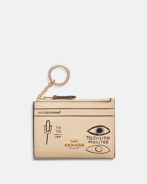 Coach X Jean Michel Basquiat Mini Skinny Id Case