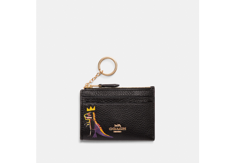 Coach X Jean Michel Basquiat Mini Skinny Id Case image number 0