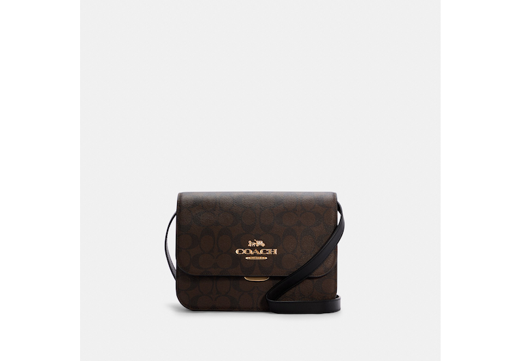 Brynn Flap Crossbody In Signature Canvas image number 0