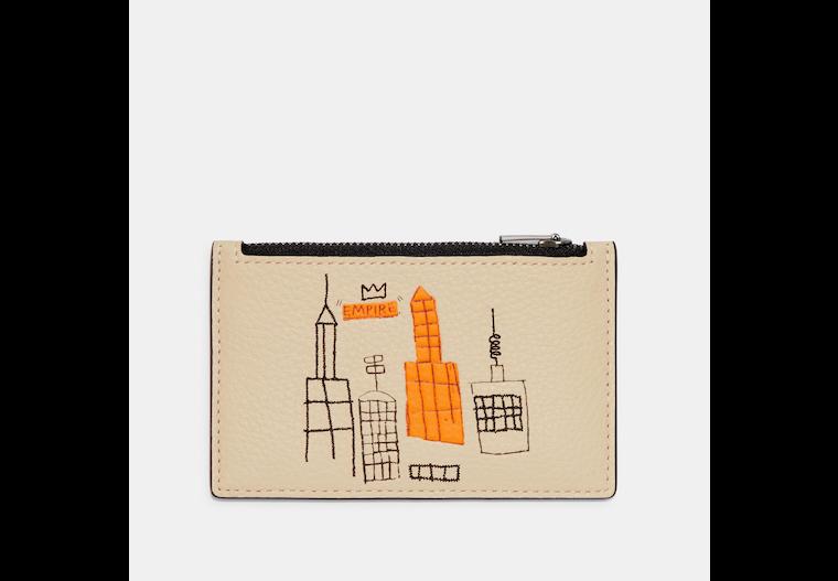 Coach X Jean Michel Basquiat Zip Card Case image number 0