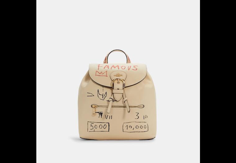 Coach X Jean Michel Basquiat Kleo Backpack image number 0
