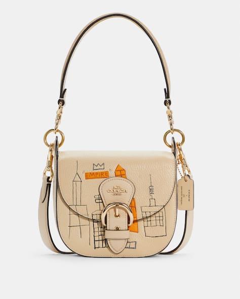 Coach X Jean Michel Basquiat Kleo Shoulder Bag 17