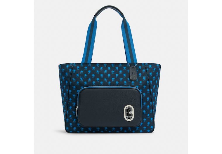 Court Tote With Badland Floral Print image number 0