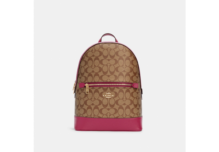 Kenley Backpack In Signature Canvas image number 0