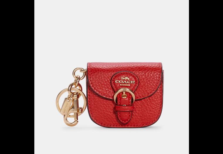 Mini Buckle Saddle Bag Charm image number 0