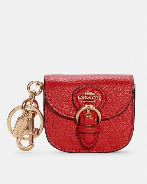 Mini Buckle Saddle Bag Charm