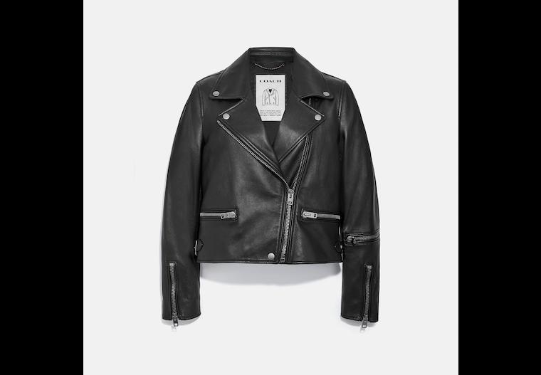 Leather Biker image number 0