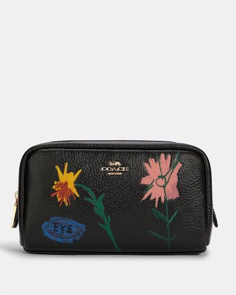 Coach X Jean Michel Basquiat Small Boxy Cosmetic Case