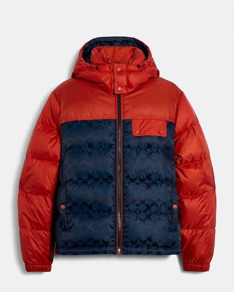 Signature Hooded Puffer Jacket
