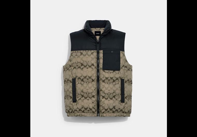 Signature Puffer Vest image number 0