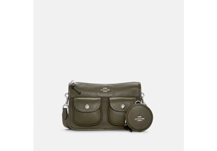 Pennie Crossbody With Coin Case image number 0
