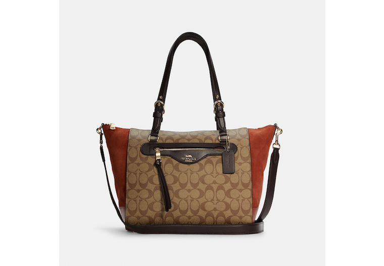 Kleo Carryall In Signature Canvas image number 0