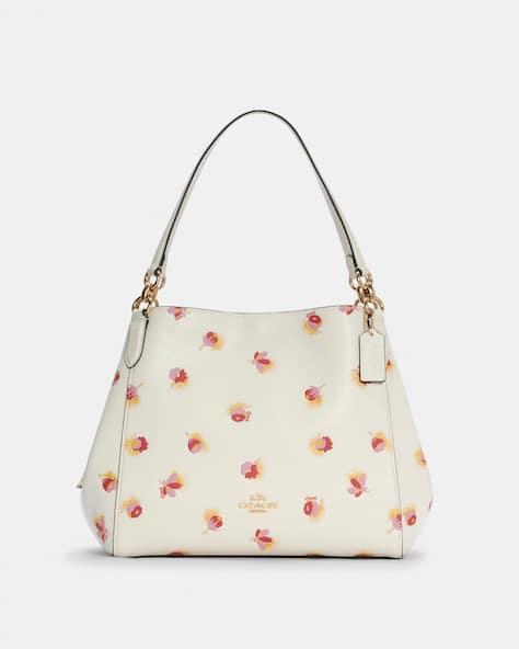 Hallie Shoulder Bag With Pop Floral Print