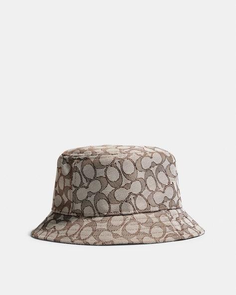 Signature Jacquard Bucket Hat