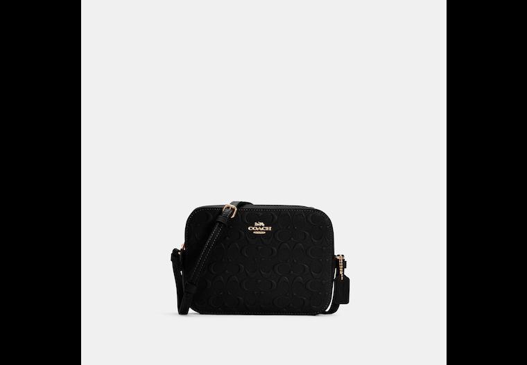 Mini Camera Bag In Signature Leather image number 0