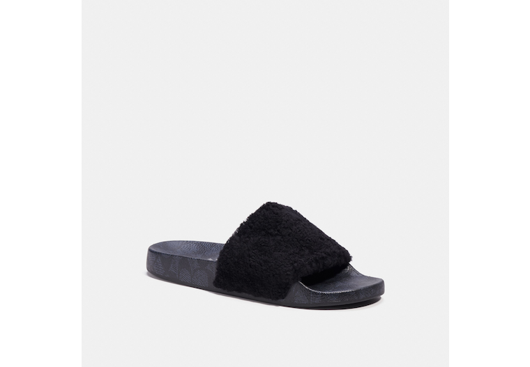 Slide With Shearling image number 0