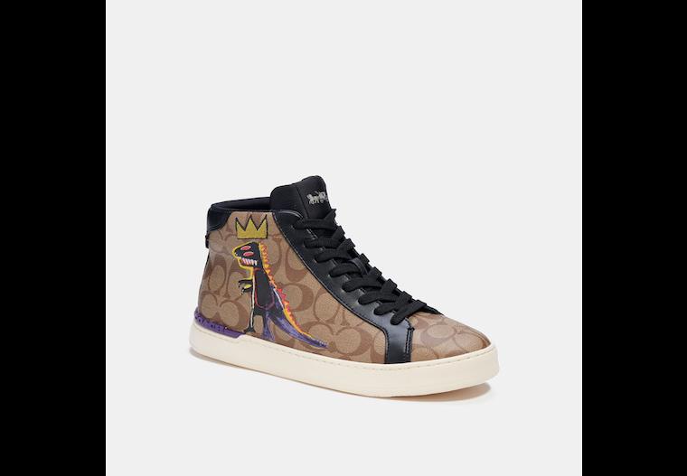 Coach X Jean Michel Basquiat Clip High Top Sneaker image number 0