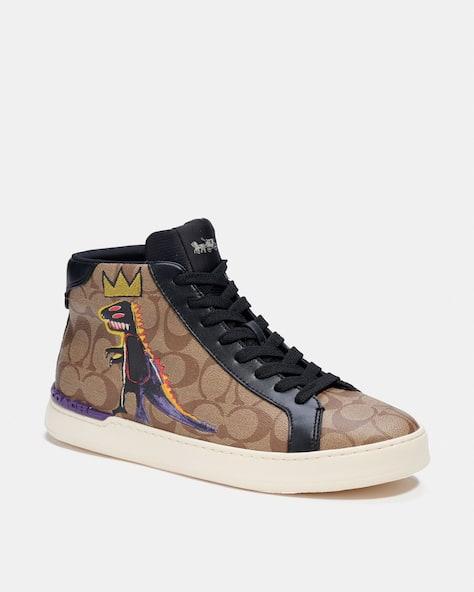 Coach X Jean Michel Basquiat Clip High Top Sneaker