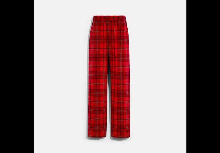Plaid Pajama Pants image number 0