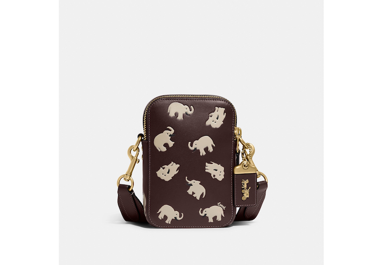 Rogue Crossbody 12 With Elephant Print image number 0