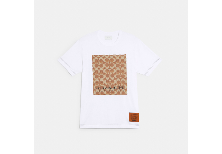 Trompe Loeil T Shirt In Organic Cotton image number 0