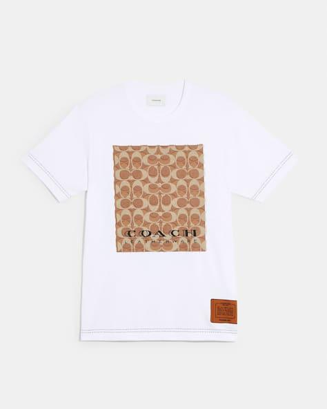 Trompe Loeil T Shirt In Organic Cotton