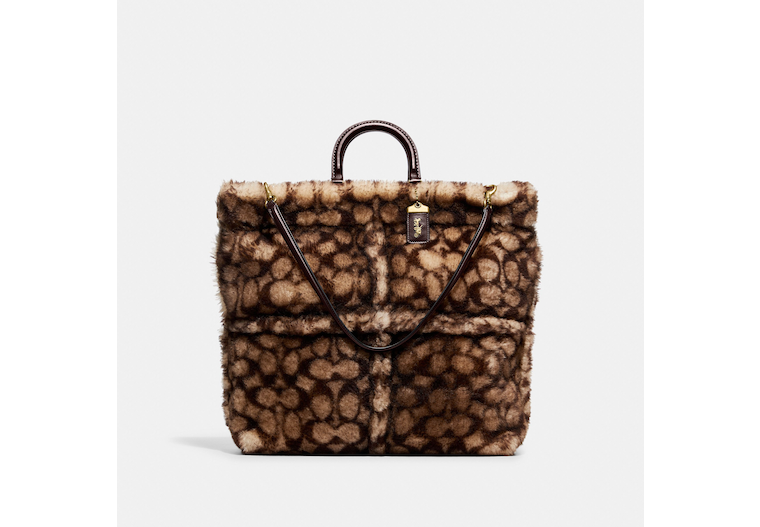 Rogue Tote In Signature Shearling image number 0