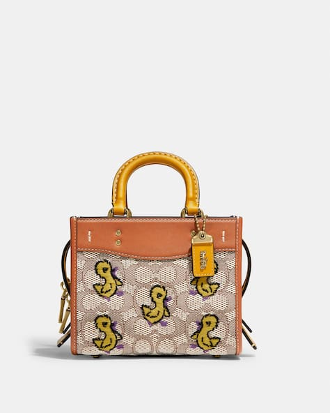 Rogue 17 In Signature Textile Jacquard With Duck Motif Embroidery