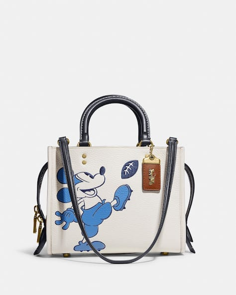 Disney X Coach Rogue 25 With Mickey Mouse