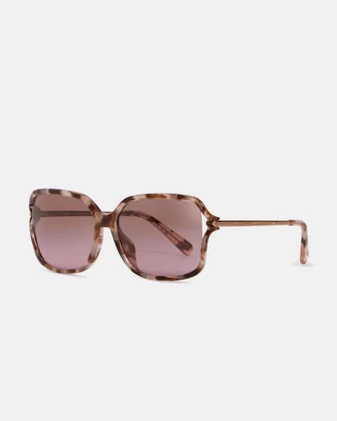 Metal Open Frame Sunglasses
